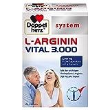 Doppelherz system L-ARGININ VITAL 3.000 – 750 mg L-Arginin pro Kapsel – Für den vitalen und aktiven Mann – 120 Kapseln