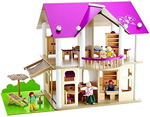mejor reputación Eichhorn 2513 Dolls' Villa with Figures and Furniture Furniture Furniture by Eichhorn  Web oficial