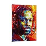yizhuang Kendrick Lamar Berühmter Rapper Aquarell Poster