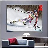 YGWDLON Lindsey Vonn-American World Cup Alpine Ski Racer