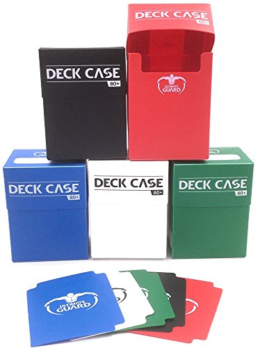 5x Ultimate Guard Deck Case - Verschiedene Farben - Für Sammelkarten - Magic