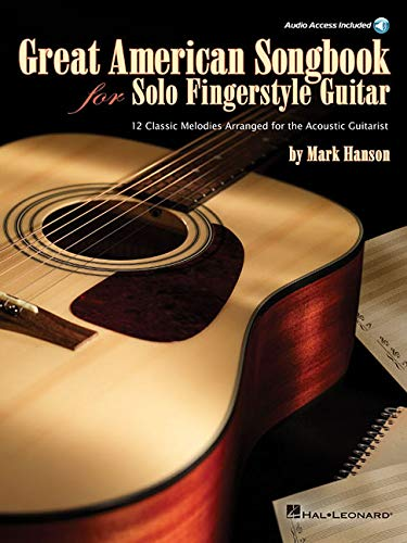 Great American Songbook For Solo Fingerstyle Guitar: Noten, CD für Gitarre