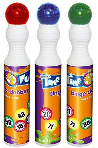 Smiffys Bingo Dabber, sortierte Farben, 43ml, 20671