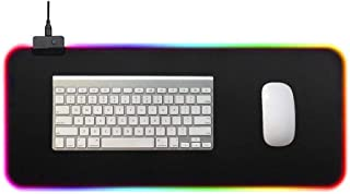 headytidy Gaming Surface, Medium RGB Prism Cloth, Colorful Gaming Mouse Pad, Optimized for Gaming Sensors with Backlight