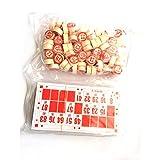 TONOSEVILLA - Bingo Loteria con NUMEROS DE Madera