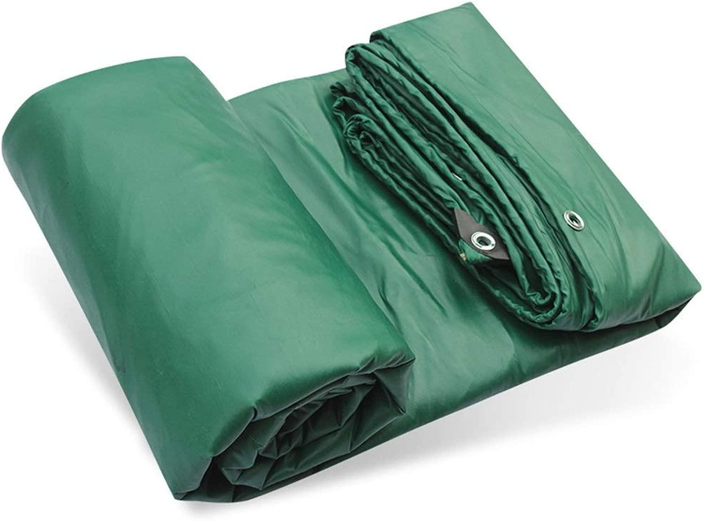 ターポリンターポリン3抗布PVC布雨ターポリン車のターポリンコーティングターポリンキャンバスソフトPVC布日焼け止めターポリン (Color : 緑, Size : 700*800CM)
