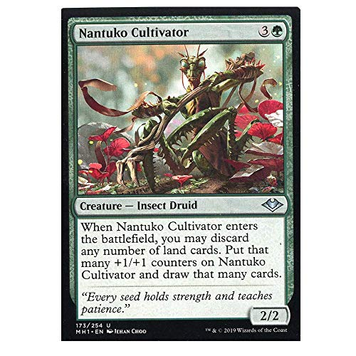 Lowest Price! Mint x4 nantuko Cultivator 173/254 Uncommon