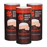 MeineKäsebox KÄSEBOX 3-ER Box 15 X 125 G CAMEMBERT Brie DOSENKÄSE