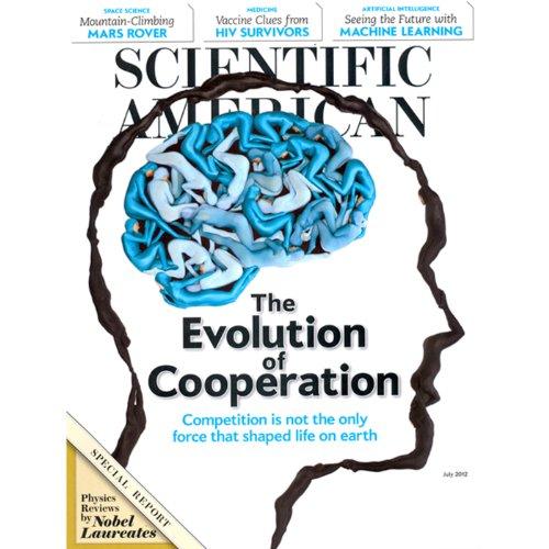 Scientific American audiobook cover art