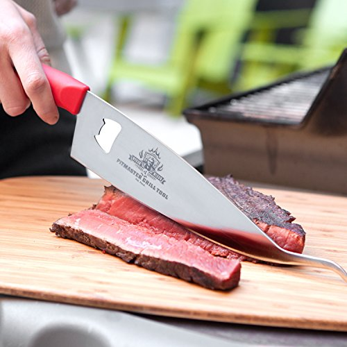 Ergo Chef MM7008 Myron Mixon Pitmaster BBQ 3 in 1 Grill Tool
