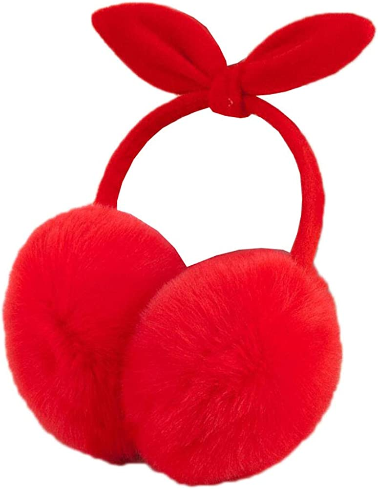 Cute Animal Soft Earmuffs Winter Warm Outdoor Ear Covers Headband Fur Ear warmer,#9