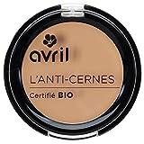 Avril Corrector de ojeras, Certificado orgánico, Dorado, 2,5g