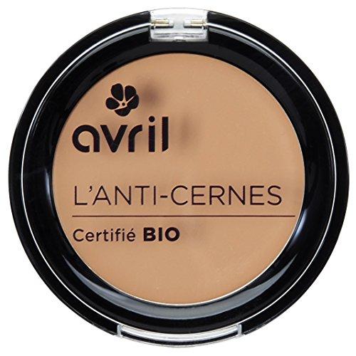 Avril Corrector de ojeras, Certificado orgánico, Dorado, 2,
