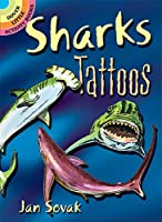 Image: Sharks Tattoos (Dover Tattoos), by Jan Sovak (Author). Publisher: Dover Publications (January 16, 1998)
