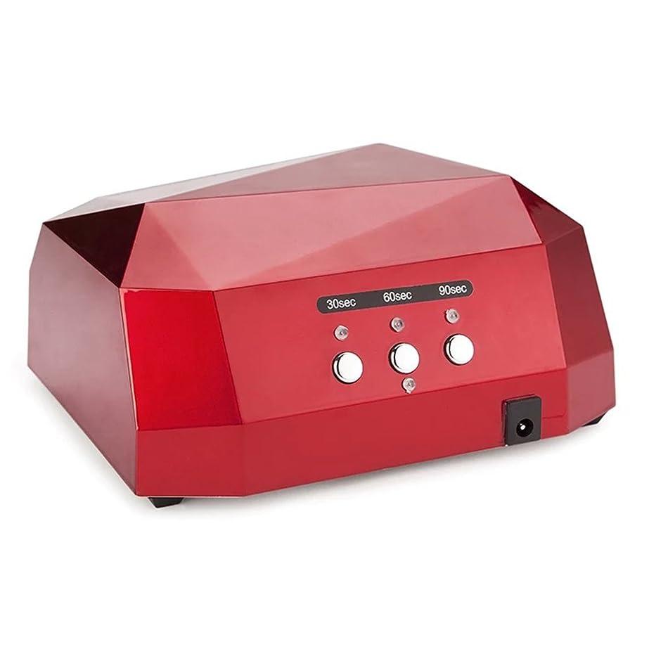 グレートオークピービッシュシンプルさLED UV 36Wネイルランプジェルネイルキュアドライヤー自動3タイマー設定(30S / 60S / 90S)ネイルポリッシュマニキュアツール