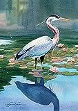 Toland Home Garden Reflecting Heron 12.5 x 18...