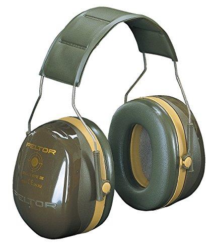 3M Peltor Bull's Eye III Kapselgehörschutz, Speziell für Jagd und Schießsport geeignet, SNR 31 dB, grün
