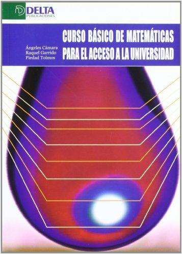 Curso Basico De Matematicas Para El Acceso A La Universidad de Camara, Angeles (2004) Tapa blanda