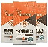 Bulletproof The Mentalist Whole Bean Coffee 3-Pack, Medium Dark Roast, Keto Friendly, Certified Clean Coffee, Rainforest Alliance, Whole Bean, Bundle