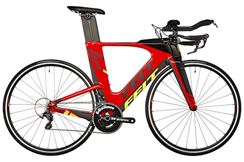 Felt IA4 - Bicicletas triatlón - rojo/negro Tamaño del cuadro 56 cm 2017