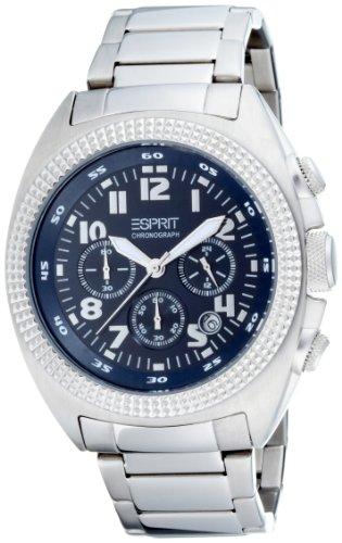 Esprit Herren-Armbanduhr Chronograph Quarz Edelstahl ES900491007