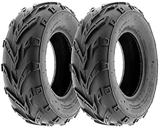 MMG Set of 2 ATV Tubeless Tire 21x7-10 (175/80-10) Front or Rear All Terrain ATV UTV Go Kart - P133
