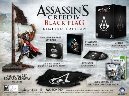 Assassin S Creed Iv Black Flag Limited Edition Playstation 3
