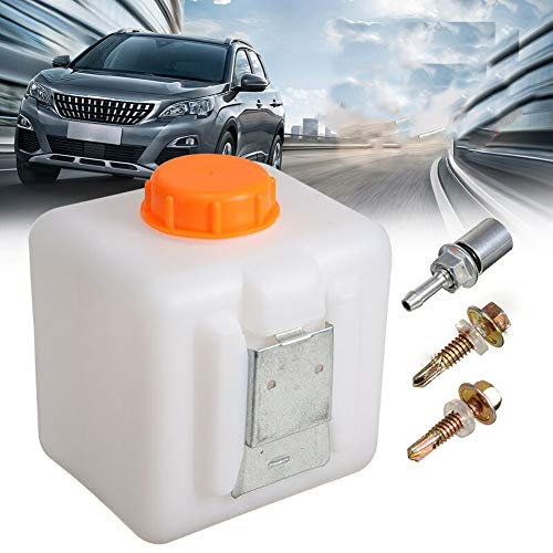 ViCiCA 2.5L Fuel Tank Oil Fuel Diesel Water Tank Bottle Can Kit for Electric Car Parking Heater Spill Proof Fuel Container