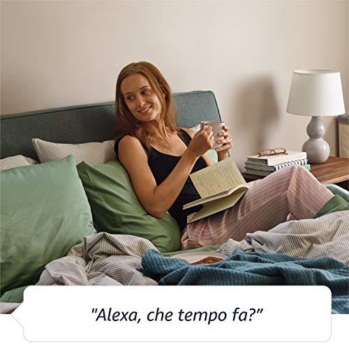 Amazon Echo (3ª generazione) - Altoparlante intelligente con Alexa - Tessuto antracite