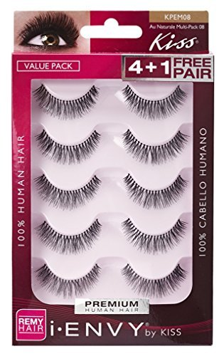 Kiss I Envy Au Naturale 08 Value Pack 4+1 Lashes by Kiss