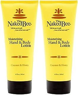 The Naked Bee Coconut & Honey Moisturizing Hand & Body Lotion, 6.7 Oz - 2 Pack