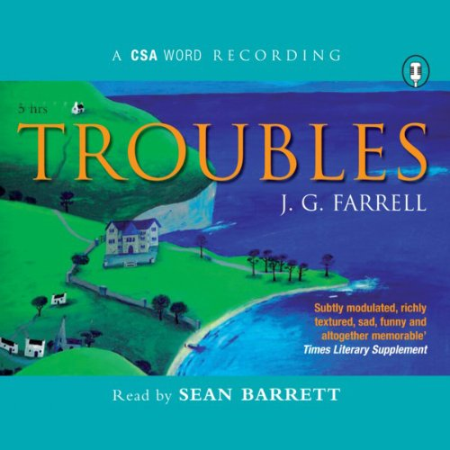 Troubles audiobook cover art