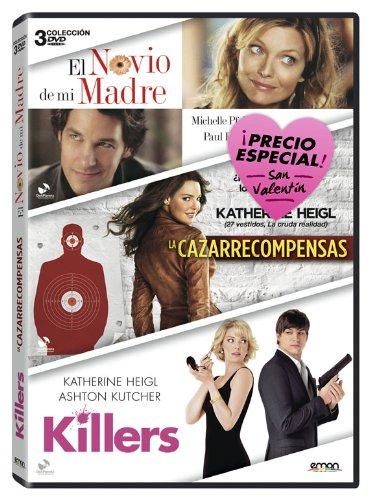 Pack San Valentin: El Novio D Mi Madre + La Cazarrecompensas + Killers [DVD]