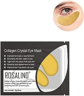 Gel Collagen Eye Mask, Eye Mask Anti-Aging Hyaluronic Acid Eye Patches Under Eye Mask for Moisturizing & Reducing Dark Circles Puffiness Wrinkles Eye for Women and Men