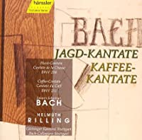 Cantatas.208, 211: Rilling / Stuttgart Bach Ensemble