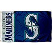 3'x5' in Size with two Metal Grommets for attaching to your Flagpole Made of 100% Polyester with Quadruple Stitched Flyends for Durability, 150d Thickness, Imported Team Logos are viewable on both sides (Opposite side is a reverse image) Perfect for ...