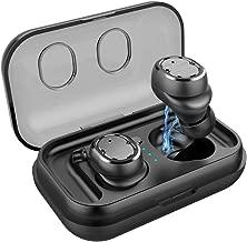 Wireless Earbuds Sport Earphones TWS Bluetooth 5.0 Headset Fitness Waterproof Wireless Headphones for iPhone Xiaomi Huawei Sony,Black