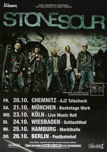 Stone Sour - All Hope is Gone, Tour 2007 » Konzertplakat/Premium Poster   Live Konzert Veranstaltung   DIN A1 «