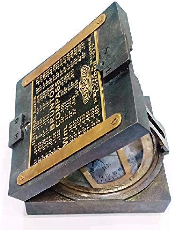 Nagina International, Anitique Compass Vintage Compass Brunton Compass Kelvin & Hughes London 1917