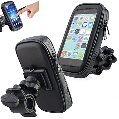 Teléfono de la Bicicleta Bolsa de Montaje Motocicleta Titular de teléfono Impermeable Titular de teléfono Funda Accesorios de Bicicleta Pantalla táctil Sensible para el Soporte telefónico-XL