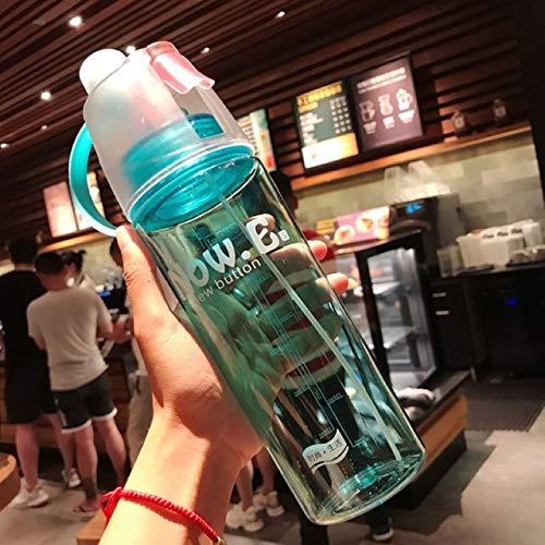 Wgath Buitensporten Spray Plastic Water Beker Gepersonaliseerde Geschenk Beker MannelijkeVrouwelijke Studenten High-End Reizen Draagbare Mokken