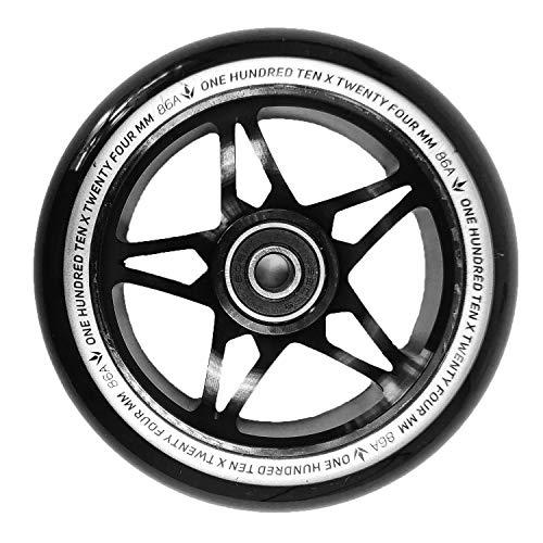 Blunt One S3 - Rueda para patinete (110 mm), color negro