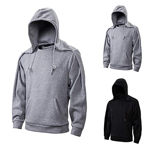 Dydelao Mens Hooded Sweater Sports Casual Outdoor Fashion Taste