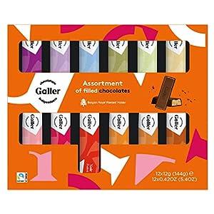 Galler ガレー チョコレート ベルギー王室御用達 ミニバーギフトボックス 12本入 (1箱)
