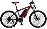 Bicicletas Eléctricas, Bicicleta de montaña eléctrica de 26 pulgadas de 26 pulgadas, bicicleta eléctrica de batería de litio 36V 13.6Ah, con bloqueo de coche / de guardabarros / bolsa de viga / linter