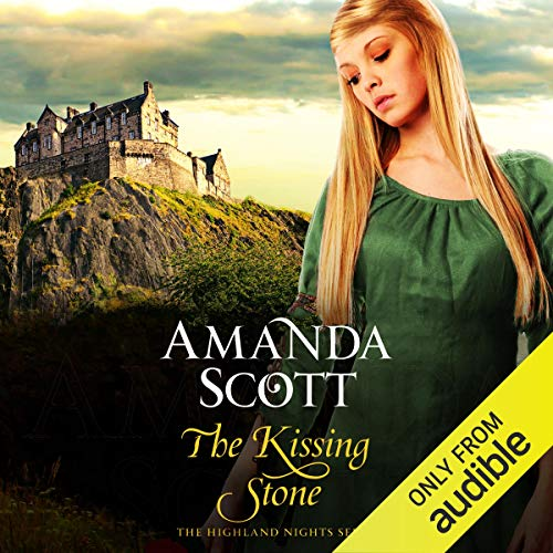 The Kissing Stone audiobook cover art