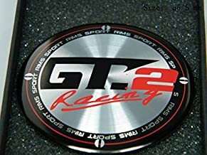 R127 GT2 4 Piece Wheel Cover 3D Emblem Mobile car Sticker hub Cap hubcaps hub caps 56.5 mm