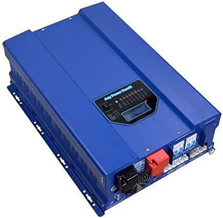 GTPOWER 12000W Peak 36000W Split Phase Pure Sine Wave Power Inverter,Low Frequency Inverter DC