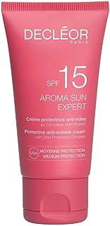 Decleor Aroma Sun Expert Protective Anti-Wrinkle Cream SPF 15 by Decleor for Unisex - 1.69 oz Cream, 50.699999999999996 mi...