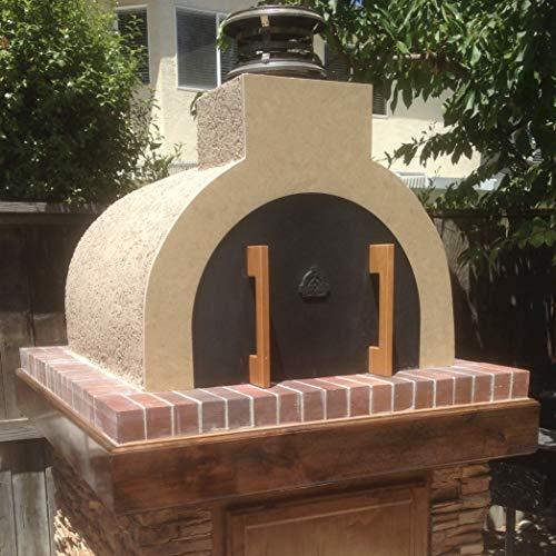 brick oven door - 4